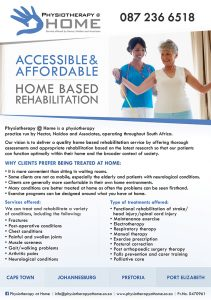 Physiotherapy@Home Flyer