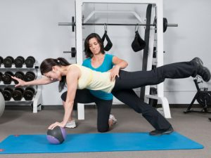 Fall prevention strength training